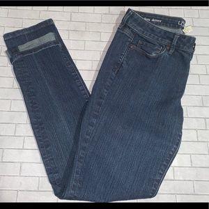 Loft modern skinny jeans 👖